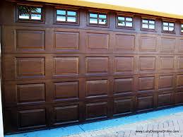 garage door gel stain garage door how to the crafty