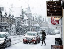 Snow Scotland Scotland Facing Eight Inches Of Snow As Siberian Brings 16c