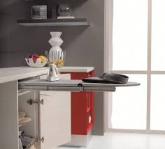 Pull Out Tables  Drawer Front Tables Buy Online BOX - Kitchen pull out table