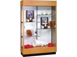 trophy display cabinets heritage trophy cabinet in oak wtih mirror 48 wx70 h trophy