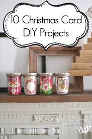 christmas card diy projects