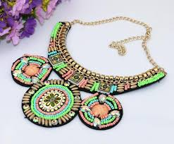 handmade necklace with beads images 2018 handmade embroidery bead necklace ethnic pattern beadwork big jpg
