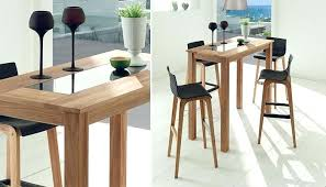 table haute pour cuisine mange debout alinea alinea tabouret haut table mange debout de