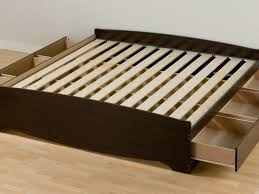 Bed Frame With Storage Diy Bed Frame Awesome Dimensions Of King Size Bed Frame Ideas