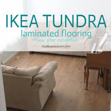 ikea tundra laminate floor review one year later it s always
