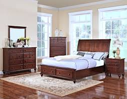 new classic creek bedroom set with storage in tobacco