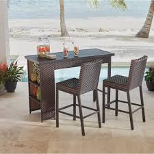 bar height dining sets outdoor furniture the home depot patio pub