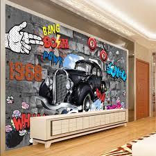 prix graffiti chambre frais graffiti boom 3d papier peint pour les murs 3d couvrant