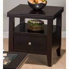 End Table Living Room End Tables Design Alternative Featuring Wooden Frames And