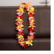 flower leis 100pcs artificial flowers wreath party decoration hawaiian flower