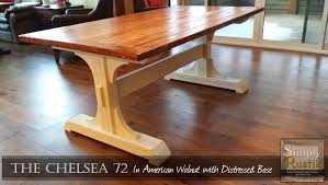 White Pedestal Dining Table Ana White Double Pedestal Farmhouse Dining Table Diy Projects