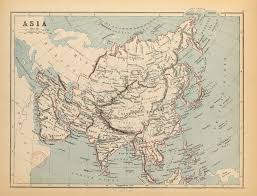 Map If Asia by Fig 2 1 Butler U0027s Map Of Asia 1872 Dislocating The Orient