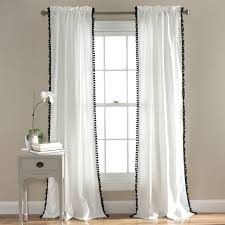 pom pom window curtain lush décor www lushdecor com
