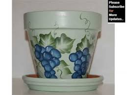 Design Flower Pots Flower Pot Design Home Decor Pictures Ideas Youtube