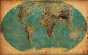 Vintage World Map by The World In 1938 By Jaysimons On Deviantart