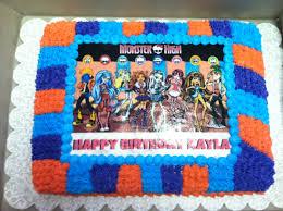 my daughter u0027s vegan birthday cake monster high style