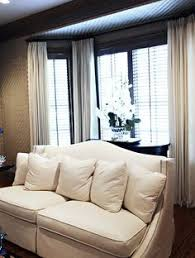 How To Put Curtains On Bay Windows Bedroom Bay Window Curtains I U0027d Like To Hang Maroon Sheers In My