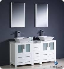 Modern Vanities For Bathrooms - fresca torino 60