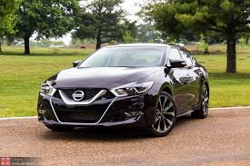 black nissan 2016 this is the 2016 nissan maxima u0027s pumped in engine note