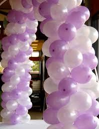 Purple Decorations Brookie U0027s Tinkerbell Birthday Balloon Decorations Magenta Pink