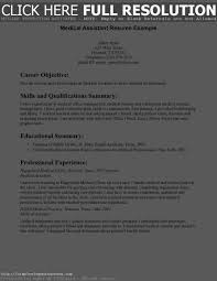 sample resumes for medical assistant jobs cma entry level resume