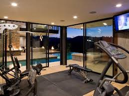 Home Gym Decor Ideas 102 Best Exercise Rooms Images On Pinterest Workout Rooms