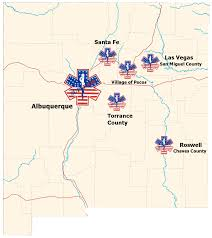 Map Of Santa Fe New Mexico by Locations Superior Ambulance