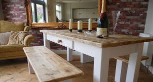 shabby chic style tables hand crafted in our uk workshop