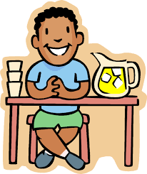 Kid At Desk by Attention Kids Hold A Lemonade Or Bake Sale To Help Raise Money