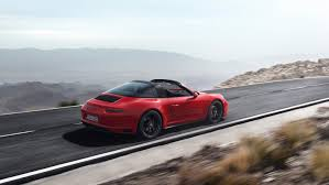 targa porsche the new porsche 911 gts models