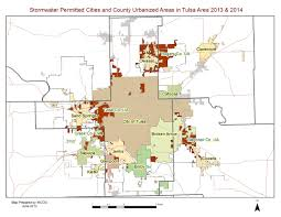Tulsa Map Green Country Stormwater Alliance Www Stormwaterok Net 918 579