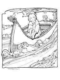 fairy tales a free vintage coloring page