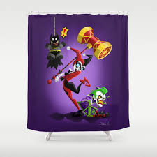 Harley Shower Curtain Blue And Clown Shower Curtains Society6