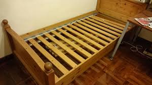 Ikea Single Bed Frame Ikea Lade Wood Brown Single Bed Frame Secondhand Hk