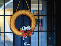 halloween craft make a tow wreath hgtv