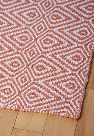 Pink And White Rug Orange White Rug Roselawnlutheran