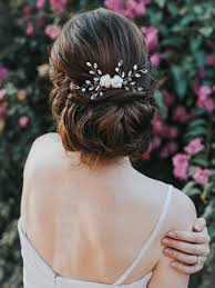 bridal hair accessories bridal flower hair vine comb bridal hair