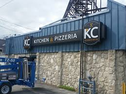 kansas city mo u2013 custom sign refurbishment for kc kitchen u0026 pizzeria