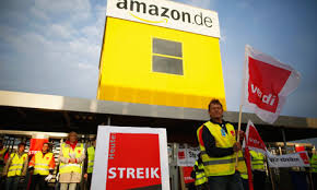amazon germany news feed from ethical consumer german amazon workers on strike