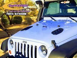 jeep hood vents hood vents daystar jk wrangler 2007 2015 d78 kj71048bk