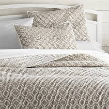 Duvet Covers And Quilts Raj Khaki King Reversible Quilt Crate And Barrel