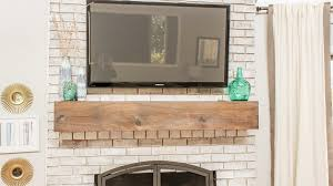 how to hide cables when mounting tv on brick fireplace fireplace