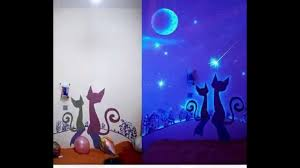15 glow in the dark wall murals youtube