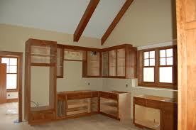 Kitchen Without Cabinet Doors Kitchen Gets Started Modern Craftsman Style Home