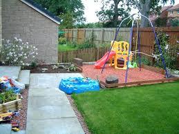 garden area ideas garden play area idea with rubber mulch tinker around