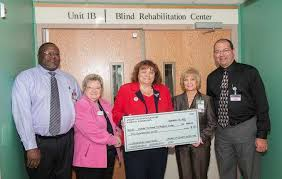 Blind Rehabilitation American Legion Auxiliary Donates Funds For Blind Veterans In Augusta