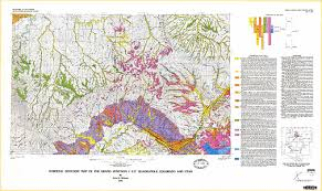 surficial geologic map of the grand junction 1 degree x 2 degrees