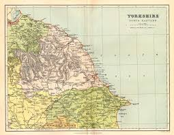 Yorkshire Map Yorkshire Genealogy Heraldry And Family History