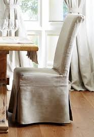 Linen Slipcovered Dining Chairs Best 25 Dining Chair Slipcovers Ideas On Pinterest Dining Chair