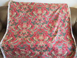 Pink Home Decor Fabric Vintage Schumacher Fabric Flautist Fabric Schumacher Screenprint